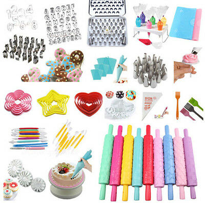 Fondant Cake Cookies Decorating Sugarcraft Cutter Icing Tools Baking Mould #T