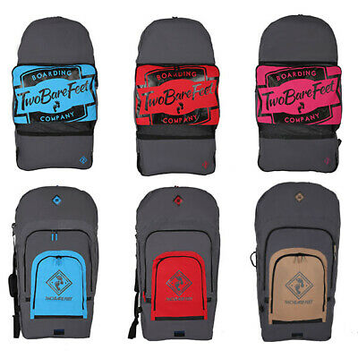 """BAG for BODYBOARD - 2/4 42"""" board carry body board surf surfing TWO BARE FEET"""