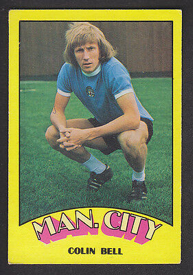 A&BC - Footballers (Red Back) 1974 - # 129 Colin Bell - Manchester City