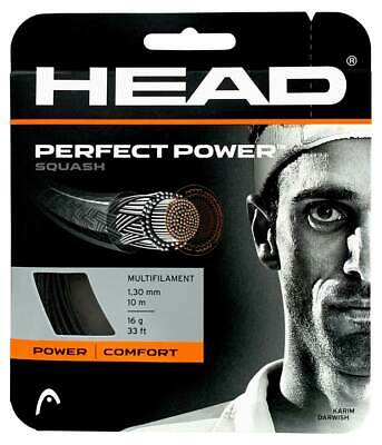 Head Perfect Power 1.30mm 16 Squash Strings Set