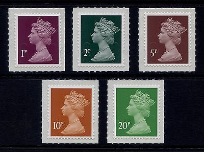 QE Machin definitive self-adhesive stamps. Sets & singles ( Multiple Listing ) .