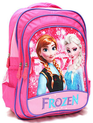 New Backpack Bag Disney Princess Frozen Elsa Anna Olaf Girls School Daycare Kids
