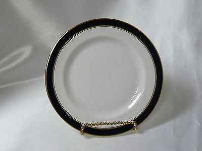 Towle Silversmiths Fine Bone China Colonnade Blue Bread & Butter Plate 6-3/8""