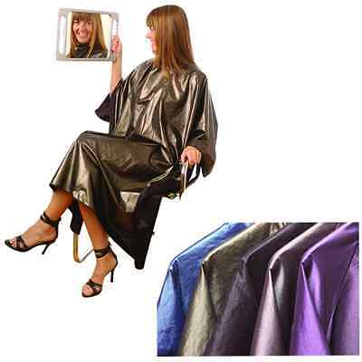 Hair Tools BLACK Salon Hairdressing Cutting Gown With Sleeves Water Resistant
