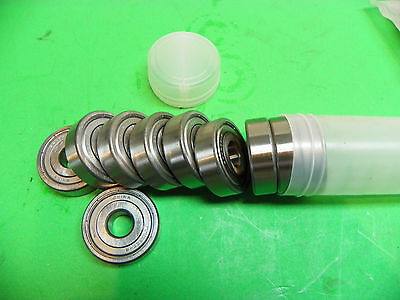 "New* Lot of 10 6203ZZ-8 Shielded Ball Bearings 1/2"" x 40mm x 12mm A6"