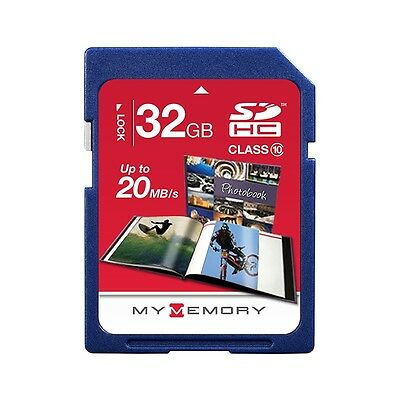New MyMemory 32GB SD SDHC Memory Card Class 10 For Digital Camera