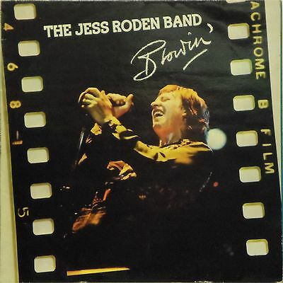 THE JESS RODEN BAND 'BLOWIN' UK LP