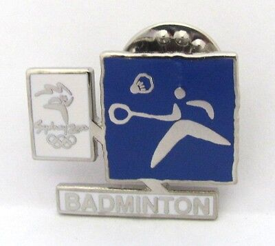 Badminton Event Pictogram Logo Sydney Olympic Games 2000 Pin Badge Collect #133