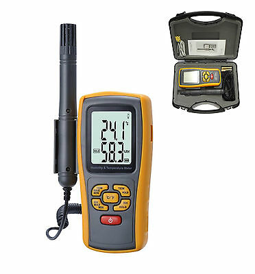 Ce Approved Digital Humidity And Temperature Meter Hygrometer Lcd Thermometer