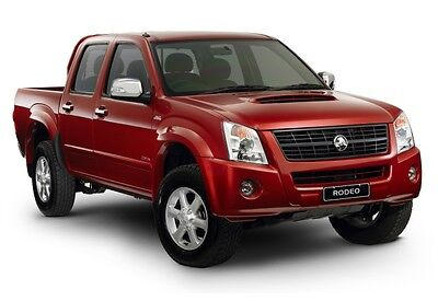 Holden Colorado Isuzu Dmax Rodeo Ra7 2008-2012 Factory Workshop & Parts Manual