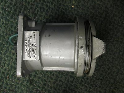 Russellstoll Receptacle DF6516FRAB 60A 120/208V 3Ph Used
