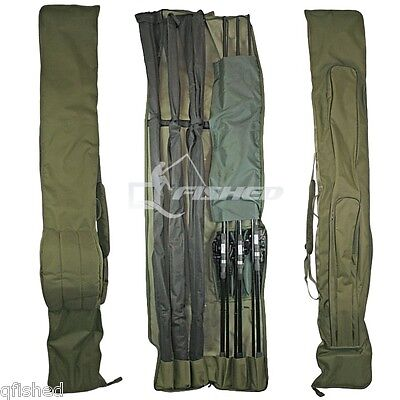 3+3 DELUXE ROD AND REEL HOLDALL BAG 12ft RODS CARP COARSE FISHING ROD BAG 618