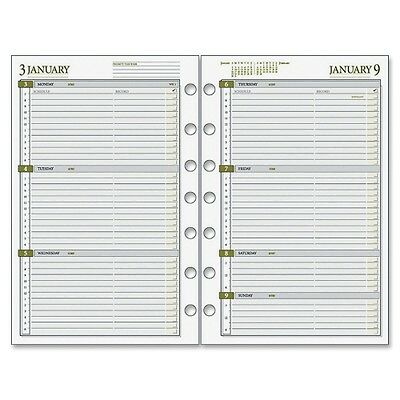 """2015 Day Runner Dated Planner Refill - Weekly - 5.5""""x8.5"""" - Jan-Dec"""