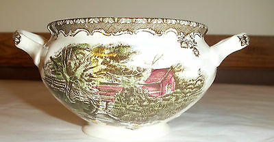 Vintage Johnson Brothers No Lid Sugar Bowl  Made in England  Mint condition