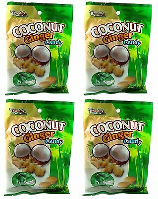 1 BAG Dandy's Dandys Coconut Ginger Candy 3.52 oz 21 pcs SAVE ON COMBO SHIPPING