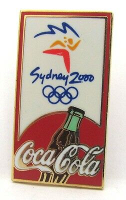 Coca Cola Cocacola Logo Sydney Olympic Games 2000 Pin Badge Collect #171