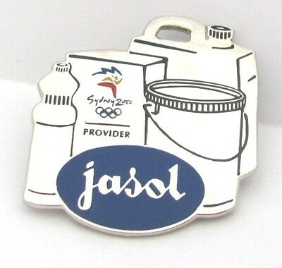 Jasol Cleaning Solutions Sydney Olympic Games 2000 Pin Badge Collect #184