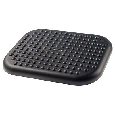 OFFICE FOOT REST , ADJUSTABLE , IMPROVES POSTURE & MASSAGES 451x330mm  +FREE DEL