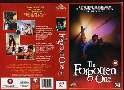 The Forgotten One, Terry O'Quinn Video Promo Sample Sleeve/Cover #11911