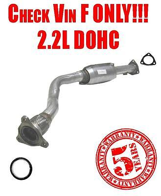 99-02 Cavalier Sunfire VIN 4 Only 2.2L Catalytic Converter W Gasket Made in USA