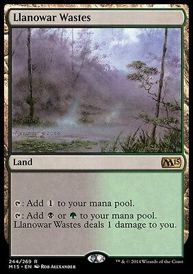 DISTESE DI LLANOWAR - LLANOWAR WASTES Magic M15 Mint