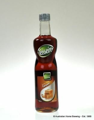 Teisseire Caramel Syrup 1lt coffee dessert Teisseire Syrup flavour concentrates
