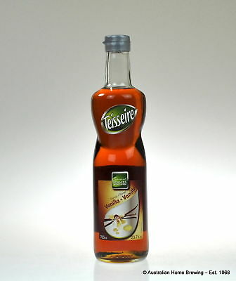 Teisseire Vanilla Syrup 1lt flavoured syrup flavoured coffee syrup milkshake