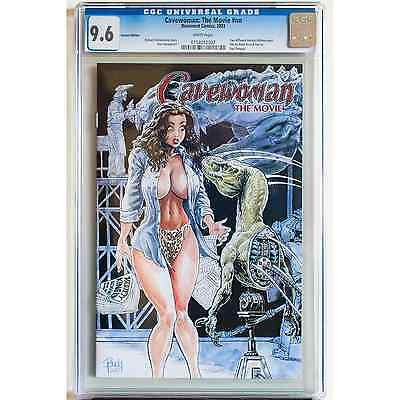 Cavewoman: The Movie, CGC 9.6, Root LTD 750 Red Foil, BEST CGC in World, COA!