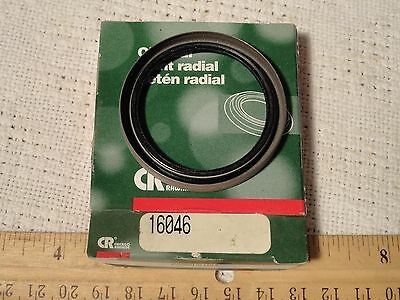"CR CHICAGO RAWHIDE 16046 OIL SEAL JOINT RADIAL 1 5/8"" x 2"" x 1/4"" Nitrile"