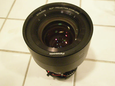 Panasonic ET-DLE200 Projector Lens Fits Many Projectors IN GREAT CONDITION!