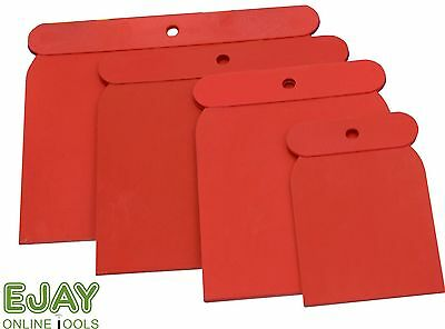 4pc Plastic Spreader Kit : Sizes include 1 of each 50, 80, 100 & 120mm