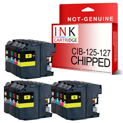 12 Chipped Ink Cartridges for Brother MFC-J6520DW MFC-J6720DW MFC-J6920DW