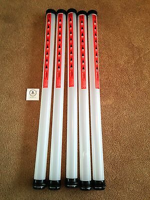 5 x JL Golf clikka tubes. Ball retriever. Holds 21 balls NEW