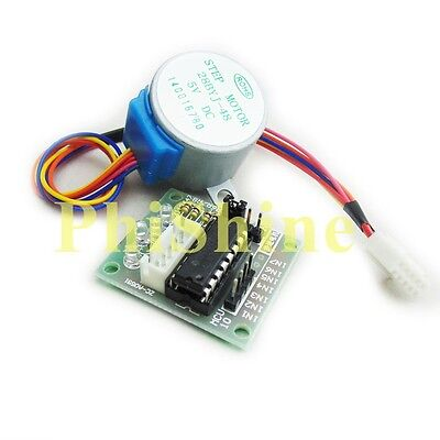 5V ULN2003 28BYJ-48 4-Phase Stepper Motor with Driver Board for Arduino PI PIC A