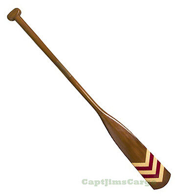 "Royal Barge Oar #1 Wooden Decorative Paddle 57"" Nautical Maritime Wall Decor New"