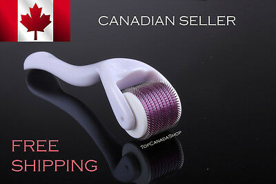 Derma Roller Titanium 540 Needles. Wrinkles, Acne, Scar Removal CANADIAN COMPANY
