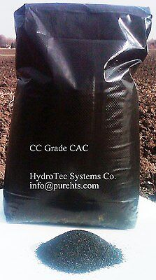 Activated Charcoal-(27.5 Lbs/1cuft)Bulk Coconut Carbon Drinking Water Grade Flt.