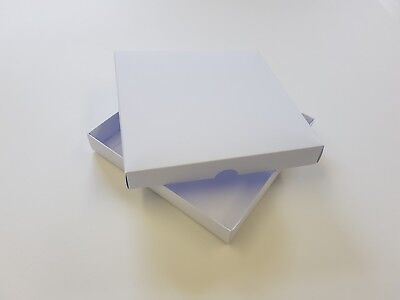 "6"" x 6"" White Wedding Invitation Boxes. Choose Quantity On Menu. Stationery"