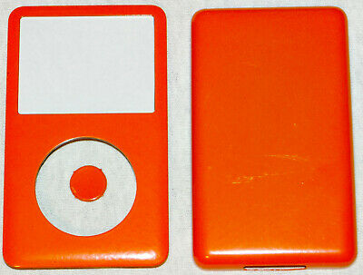 Ipod Classic 6th, 7th Generation Custom Flame Red Colored Front/Back/Button