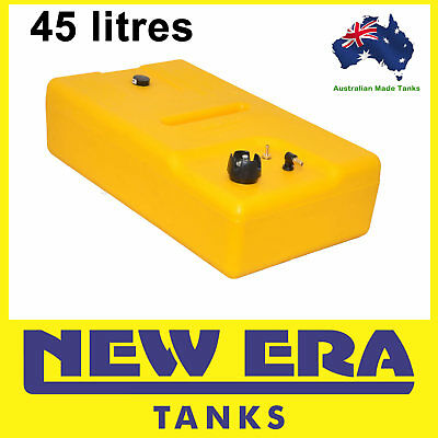 45 litre - Diesel fuel tank - complete with vented cap and mechanical gauge