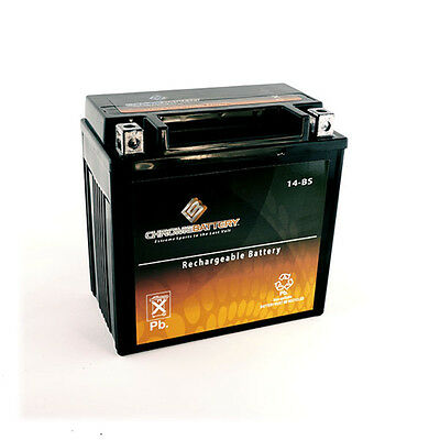 YTX14-BS Snowmobile Battery for Yamaha 998cc Apex 2006
