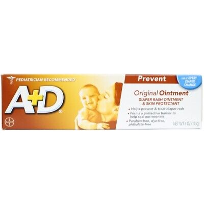 A + D Original Ointment, Diaper Rash & Skin Protectant Ointment - 4 oz tube