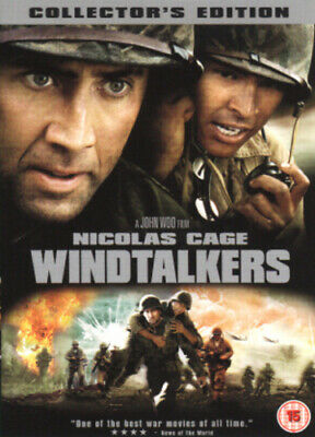 Windtalkers DVD (2003) Nicolas Cage, Woo (DIR) cert 15 FREE Shipping, Save £s