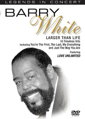 Barry White: Larger Than Life DVD (2005)