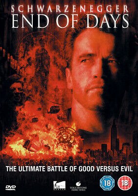 End of Days DVD (2005) Arnold Schwarzenegger, Hyams (DIR) cert 18 Amazing Value