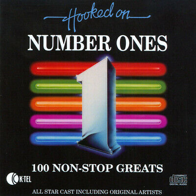 Various Artists : Hooked On Number Ones: 100 Non Stop Hits CD (1996) Great Value