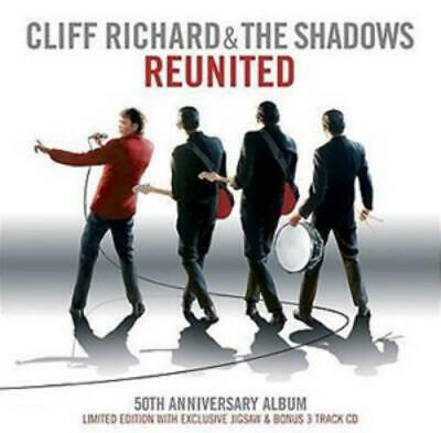 Cliff Richard and The Shadows : Reunited CD 50th Anniversary  Album (2009)
