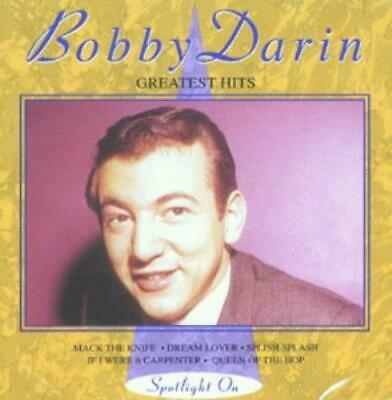Bobby Darin Greatest Hits CD Value Guaranteed from eBay's biggest seller!