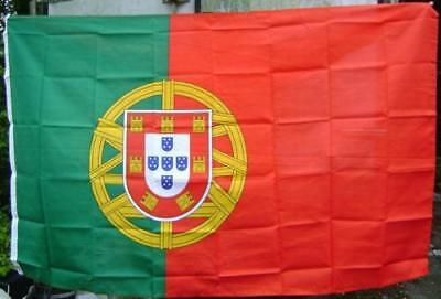 NEW 5 x 3 FOOT PORTUGAL PORTUGESE FLAG
