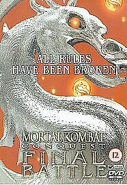 Mortal Kombat Conquest: Final Battle DVD (2005) cert 15 FREE Shipping, Save £s